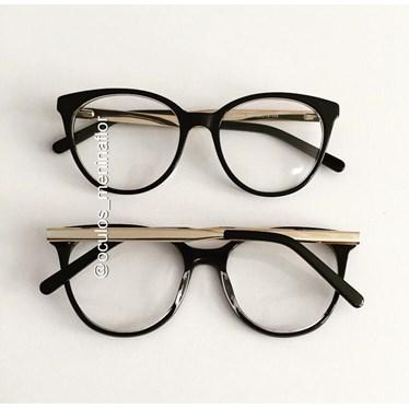 Armação de óculos de grau - Celina two - preto