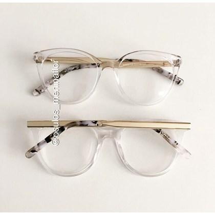 Armação de óculos de grau - Celina two - transparente