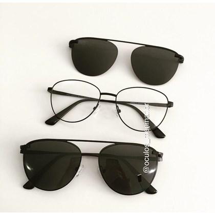 Armação de óculos de grau - Charlote 2.0 - Preto