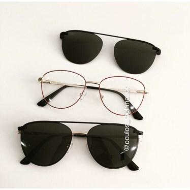 Armação de óculos de grau - Charlote 2.0 - Rosa goiaba