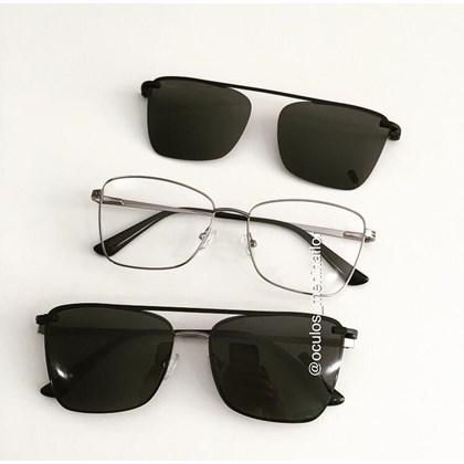 Armação de óculos de grau - Cher - Grafite