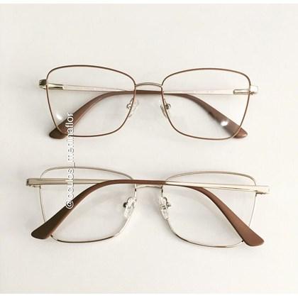 Armação de óculos de grau - Cher - Nude