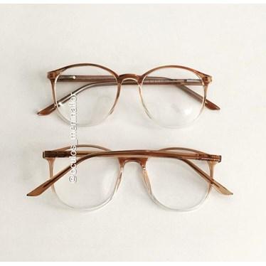 Armação de óculos de grau - Cris 1160 - Dourado transparente