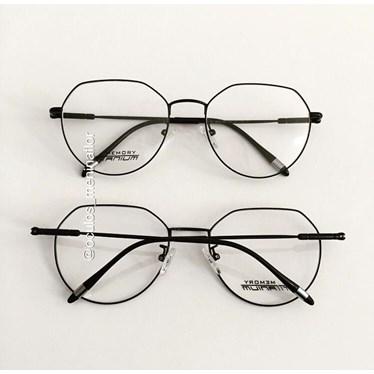 Armação de óculos de grau - Dália - Preto