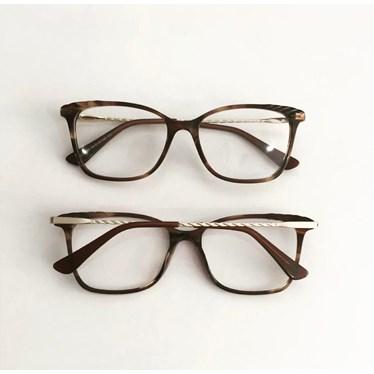 Armação de óculos de grau - Diana 3704 - Animal print