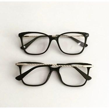 Armação de óculos de grau - Diana 3704 - Preto