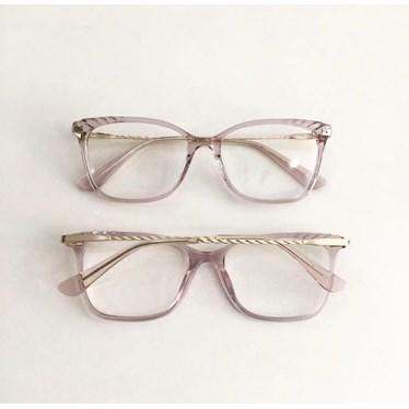 Armação de óculos de grau - Diana 3704 - Transparente
