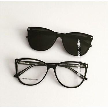 Armação de óculos de grau - Dona de Mim 25013 - Preto