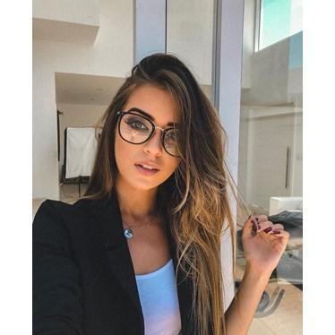 Armação de óculos de grau - Dr Quadrada - Preta