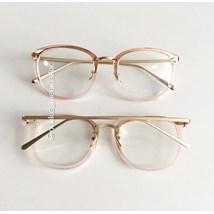Armação de óculos de grau - DR quadrada - Rose transparência