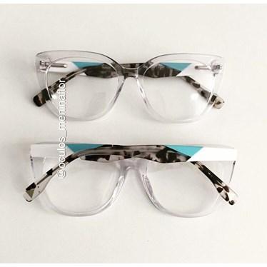 Armação de óculos de grau - Duda - Transparente