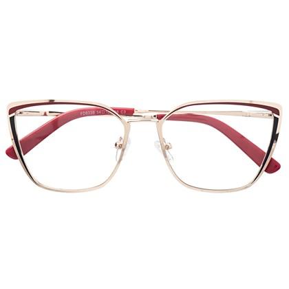 Armação de óculos de grau - Eduarda - Bordo