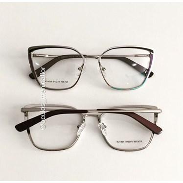 Armação de óculos de grau - Eduarda - Roxo