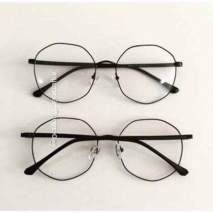 Armação de óculos de grau - Egito - Preto