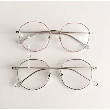 Armação de óculos de grau - Egito - Rose com prata