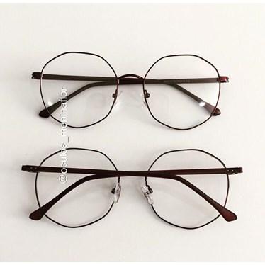 Armação de óculos de grau - Egito - Vinho