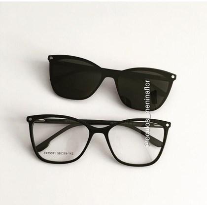 Armação de óculos de grau - Empoderada 25011 - Preto