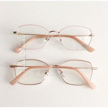 Armação de óculos de grau - Eva - Rose