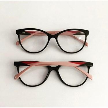 Armação de óculos de grau - Evelyn 3762 - Preto