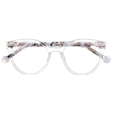 Armação de óculos de grau - Fada 2.0 - Transparente