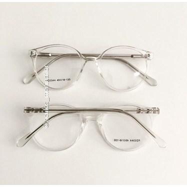 Armação de óculos de grau - Fada 3344- Transparente