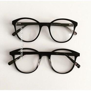 Armação de óculos de grau - Fada - Preto