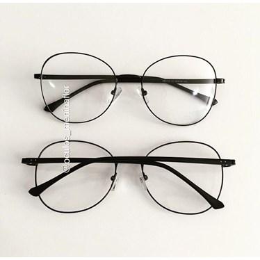 Armação de óculos de grau - Farfalla - Preto