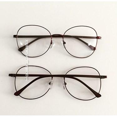 Armação de óculos de grau - Farfalla - Vinho