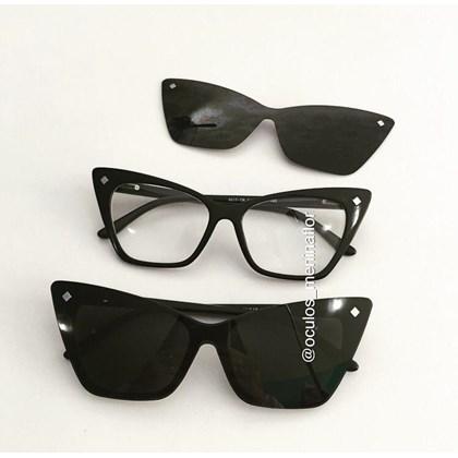 Armação de óculos de grau feminino - Girl Pop 9017 - Preto