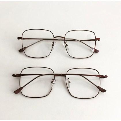Armação de óculos de grau - Flay Quadrado 2170 - Roxo Metálico