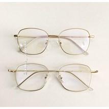 Armação de óculos de grau - Gabi - Dourado