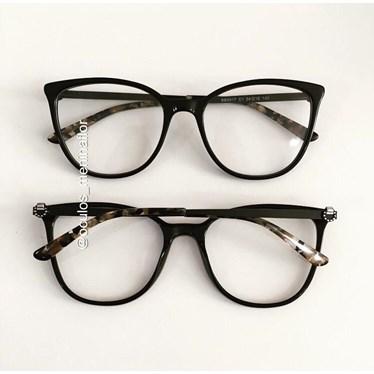 Armação de óculos de grau - Gabrielli - Preto