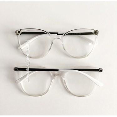 Armação de óculos de grau - Gabrielli - Transparente