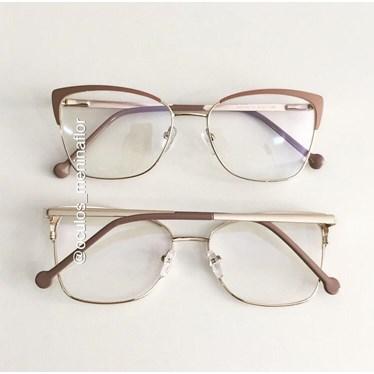 Armação de óculos de grau - Garfield 2.0 - Rose