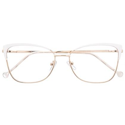 Armação de óculos de grau - Garfield 718 - Branco