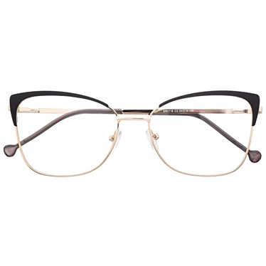 Armação de óculos de grau - Garfield 718 - Preto