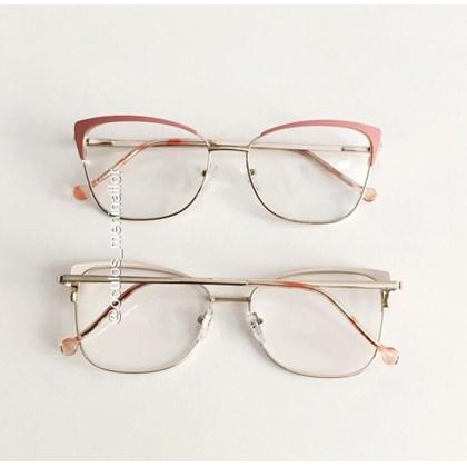 Armação de óculos de grau -  Garfield 718 - Rosa