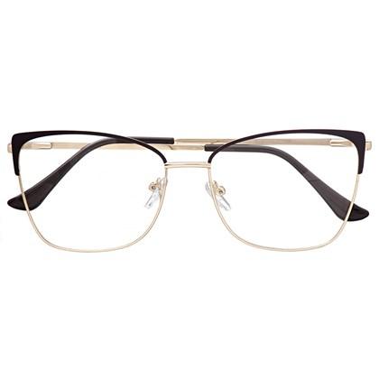 Armação de óculos de grau - Garfield 720 - Marrom escuro C2