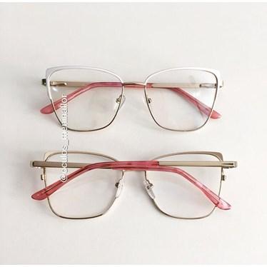 Armação de óculos de grau -  Garfield 904 - Branco
