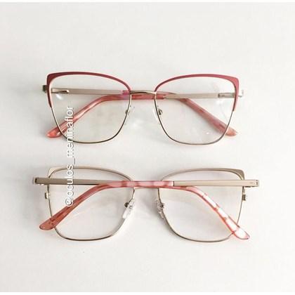 Armação de óculos de grau -  Garfield 904 - Rosa