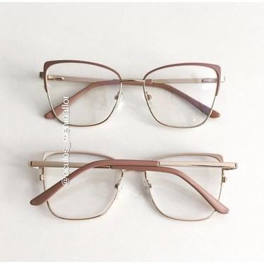 Armação de óculos de grau -  Garfield 904 - Rose Clarinho