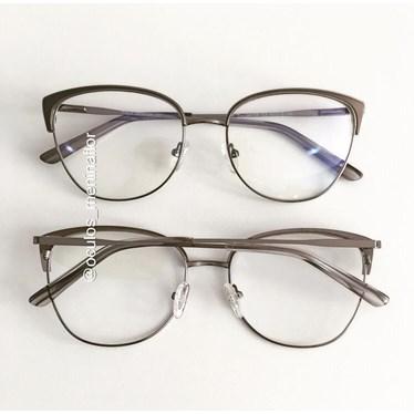 Armação de óculos de grau - Garfield - Grafite