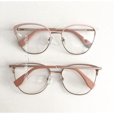 Armação de óculos de grau - Garfield - Rose