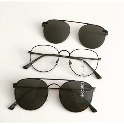 Armação de óculos de grau - Good Girl - Preto