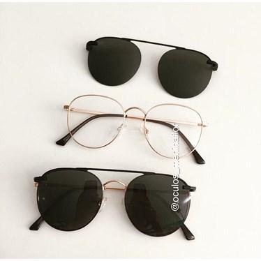 Armação de óculos de grau - Good Girl - Rose Gold
