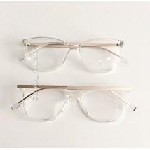 Armação de óculos de grau - Graziela - Transparente
