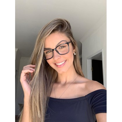 Armação de óculos de grau - Isis - Preto