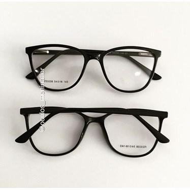 Armação de óculos de grau - Jade 3338 - Preto