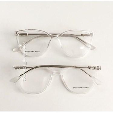 Armação de óculos de grau - Jade 3338 - Transparente