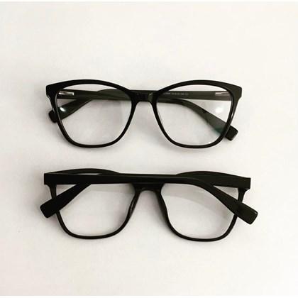 Armação de óculos de grau - Jade 3684 - Preto